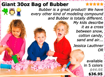 Big Bag of Bubber - Giant 30oz Size