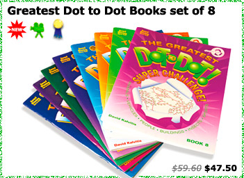 The Greatest Dot To Dot Books Set Of 8