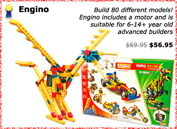 Engino construction kit