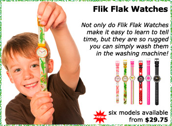 Flik Flak Washable Watches