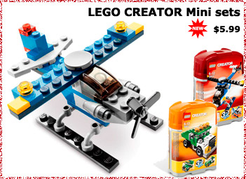 LEGO CREATOR Mini sets