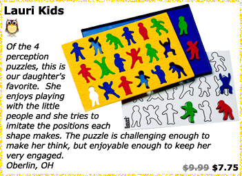 Lauri Kids Perception Puzzle