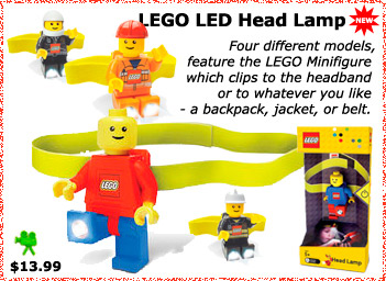 Lego LED Head lamp