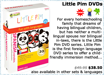 Little Pim Spanish DVDs