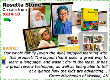 Rosetta Stone Homeschool Edition