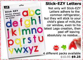StickEZY Letters