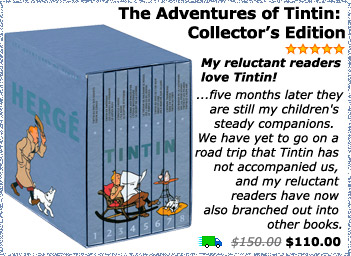 The Adventures of Tintin: Collector's Edition complete set