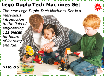 LEGO Duplo Tech Machines Set